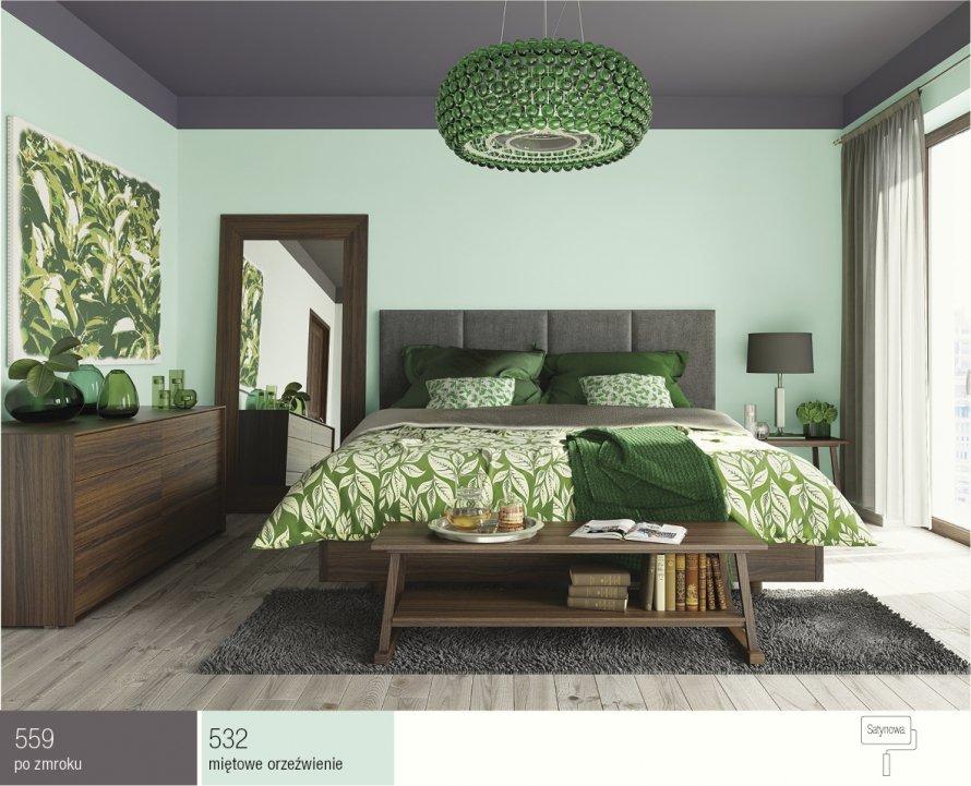 Sypialnia Inspiracje Kolory Scian